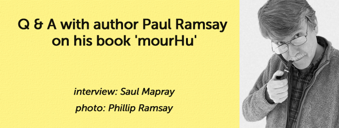 Banner for mourVu interview with Paul Ramsay